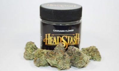 Sour Headstash buds in a jar